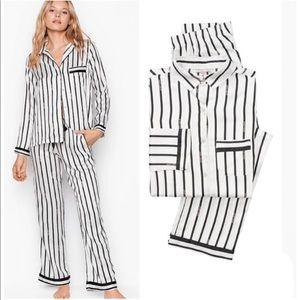 VS satin pajama long set